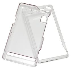 Clear Snap-on Crystal Case for Motorola A855 Droid