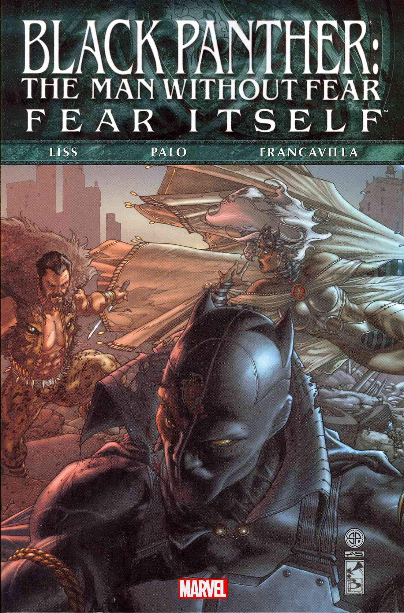 Black Panther: The Man Without Fear - Fear Itself (Paperback)