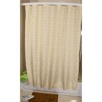 Sage Floral Dot Shower Curtain