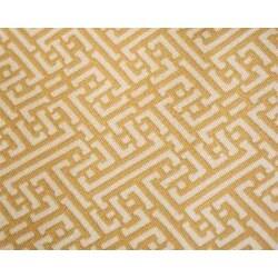 Trellis Design Gold Shower Curtain