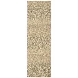 "Nourison Home Metropolitan Beige Wool Rug (2'3"" x 7'6"")"