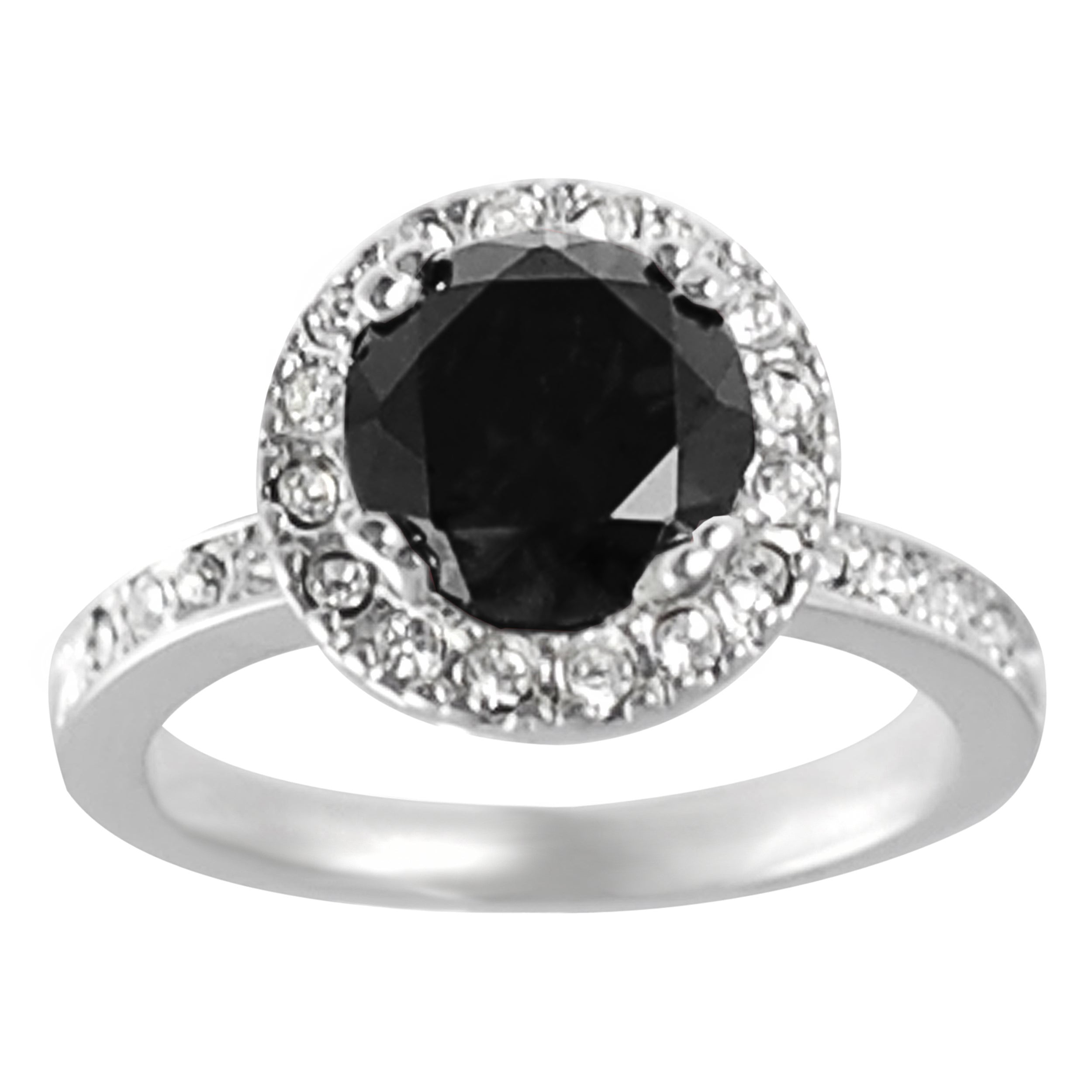 ct ring white in black rings oval h diamond and gold solitaire engagement