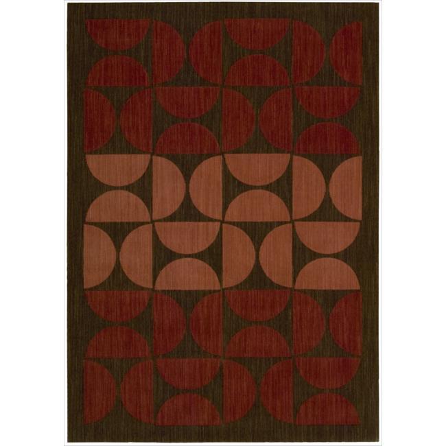 Nourison Home Metropolitan Casual Red Rug (2'6 x 4')