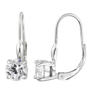Icz Stonez Gold over Silver/ Sterling Silver CZ Leverback Earrings https://ak1.ostkcdn.com/images/products/6719395/P14268381.jpg?impolicy=medium