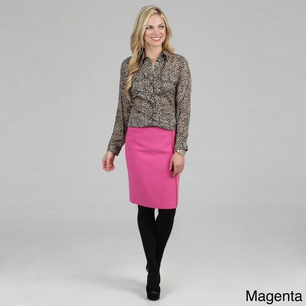 Calvin Klein Women's Zipper Detail Skirt