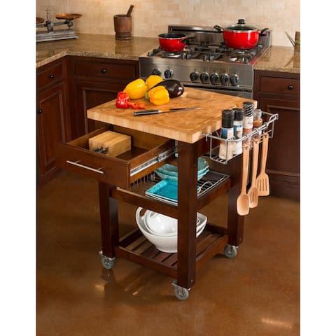 Chris & Chris Espresso Finish Pro Chef Kitchen Work Station