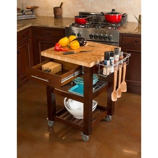 Chris & Chris Espresso Finish Pro Chef Kitchen Work Station