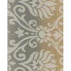 Elise Damask Jacquard 63-Inch Curtain Panel Pair