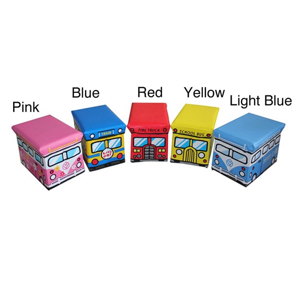Children's Large Folding Storage Ottoman