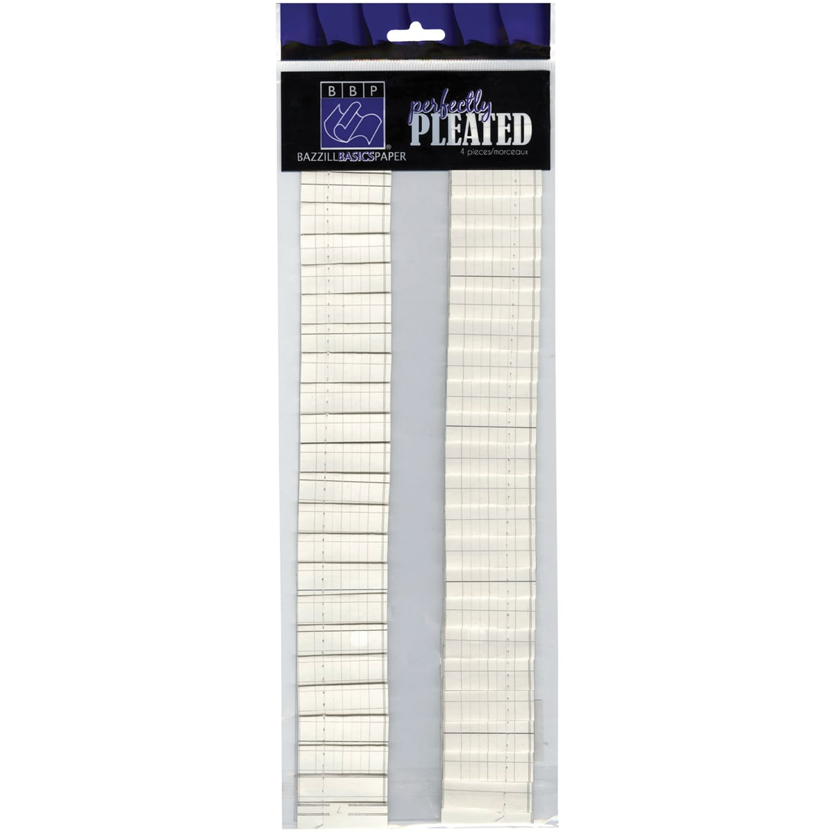 Perfectly Pleated 'Ledger' Cardstock Strips (Pack of 4)
