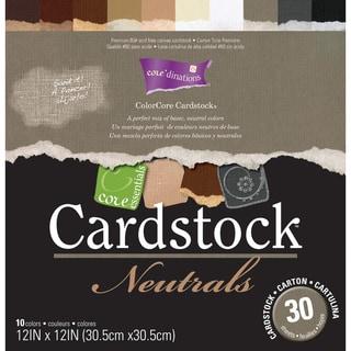 Core Essentials 'Neutrals' Cardstock 12x12