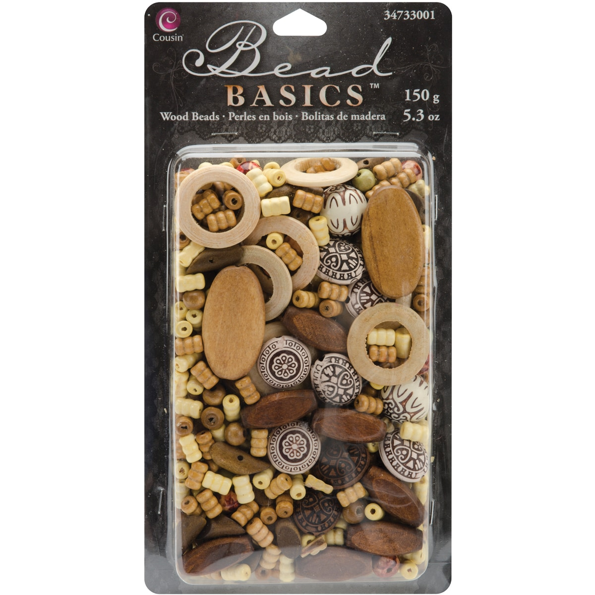Cousin Corporation of America Jewelry Basics Wood Mix 1 (...