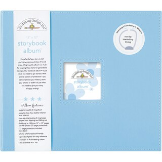 Doodlebug 'Bubble Blue' Paperboard Storybook Album