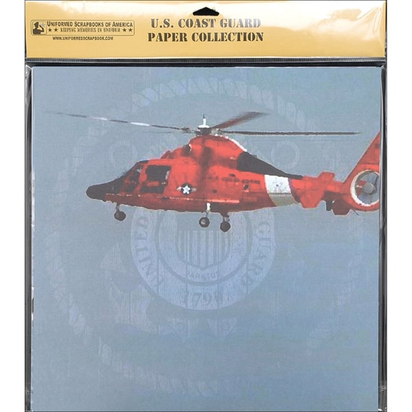 U.S. Coast Guard Scrapbook Paper Pack 20/Pkg 12X12in
