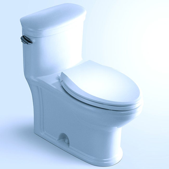 'UTICA' Contemporary European Toilet with Single Flush and Soft Closing Seat Closing Seat