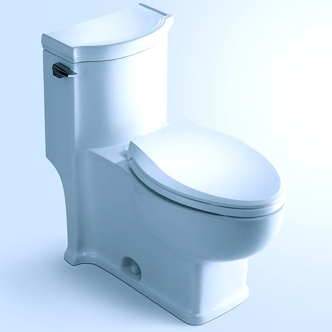 'HUDSON' Contemporary European Toilet with Single Flush and Soft Closing Seat