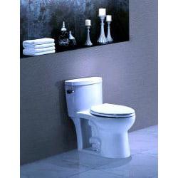 'GENEVA' Contemporary European Toilet with Single Flush and Soft Closing Seat