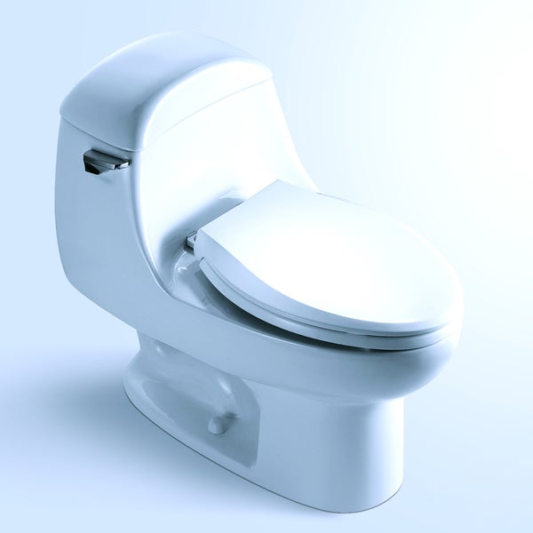 'ALBANY' Contemporary European Toilet with Single Flush and Soft Closing Seat