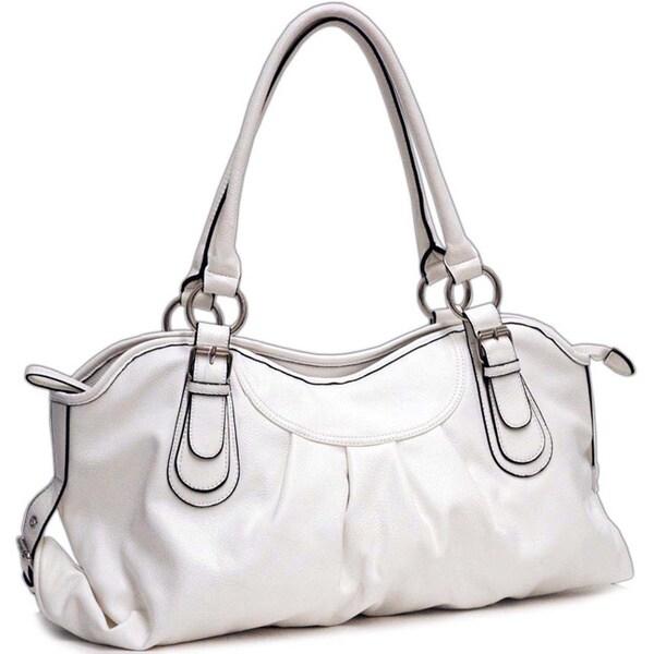 Dasein Pleated Shoulder Bag