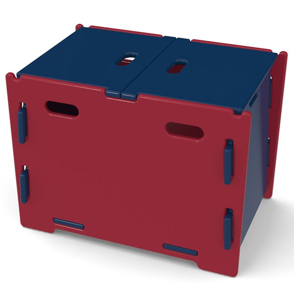 Legare Kids Navy/ Red Toy Box