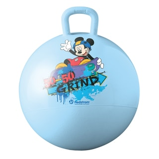 Hedstrom Disney Mickey Mouse Blue Vinyl Hopper