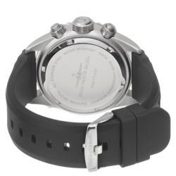 Zeno Men's 6492-5030Q-A1-8 'Divers' Black Dial Black Strap Chronograph Watch