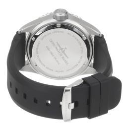 Zeno Men's 'Divers' Water-resistant Black Dial Black Rubber Strap Automatic Watch