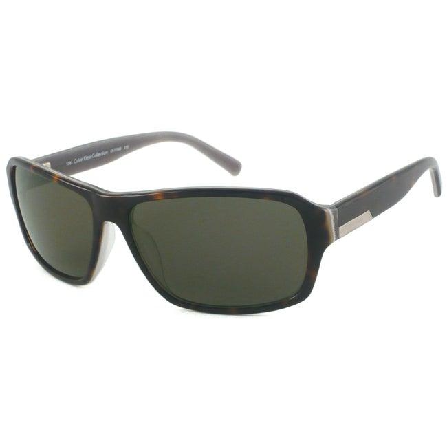 Calvin Klein Men's CK7754S Rectangular Sunglasses