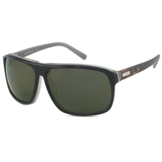 Calvin Klein Men's CK7769S Rectangular Sunglasses