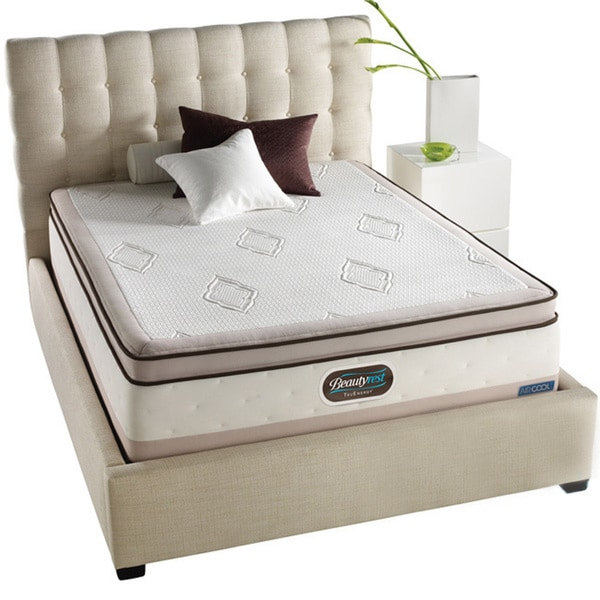 Beautyrest TruEnergy Katelynn Evenloft Plush Euro Top Queen-size Mattress Set