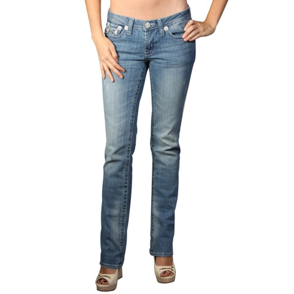 Laguna Beach Women's 'Hermosa Beach' Light Blue Slim Fit Jeans