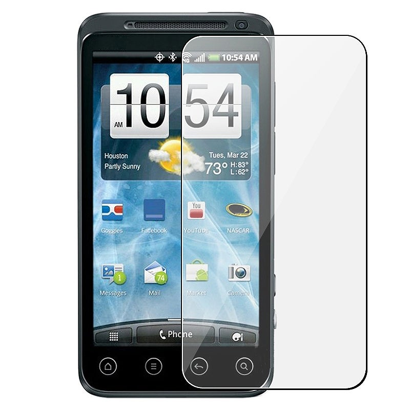 INSTEN Clear Screen Protector for HTC EVO 3D