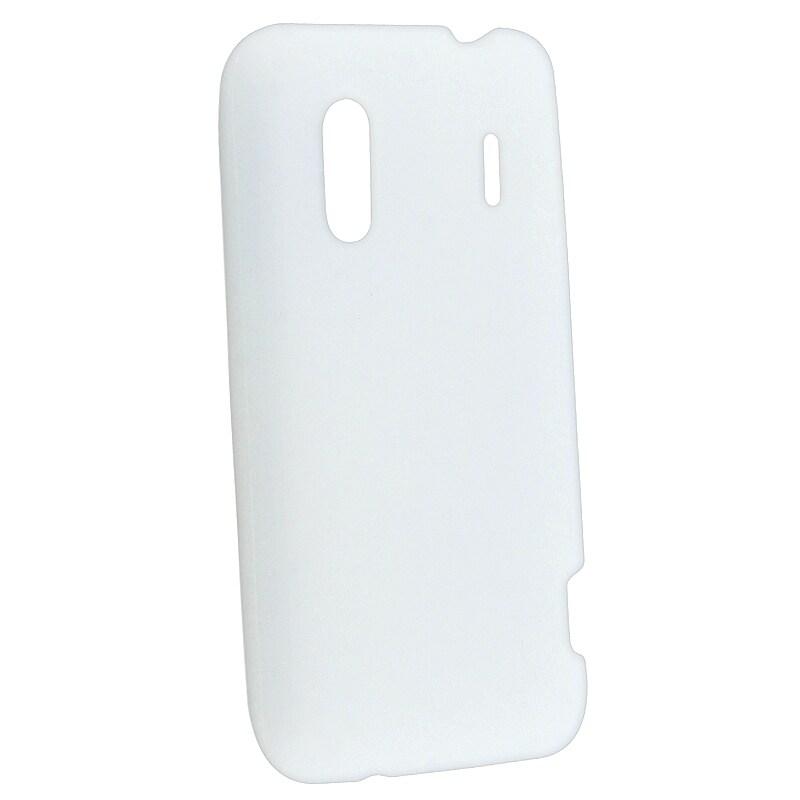 BasAcc Clear White Silicone Skin Case for HTC EVO Design 4G