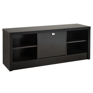 Black Valhalla Designer Series Cubbie Storage Bench