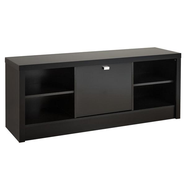 Black Valhalla Designer Series Cubbie Storage Bench