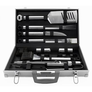 Mr. Bar-B-Q Stainless Steel 21-piece Tool Set