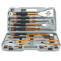 Mr. Bar-B-Q Grill Stainless Steel 18-piece Tool Set