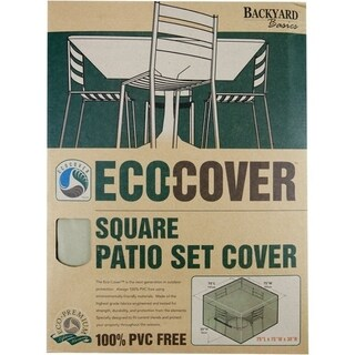 Backyard Basics Eco-Cover Square Patio Cover