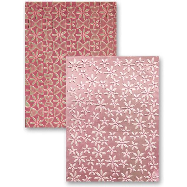 M-Bossabilities Reversible A4 Embossing Folder-Splendid