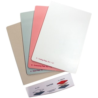 Grand Calibur Replacement Plates 8.5X12in 3/Pkg With Tray