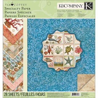 """Travel Specialty Paper Pad 12""""X12in"""
