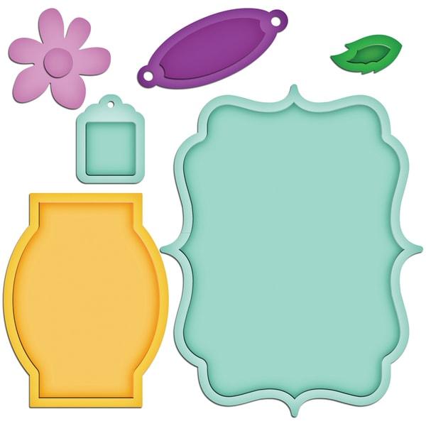 Spellbinders Shapeabilities Dies-Jar Label