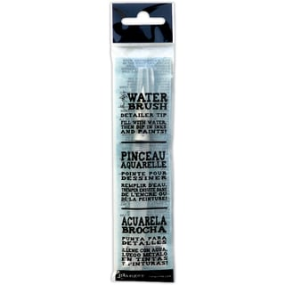 Ranger Tim Holtz Six-inch Water Brush with Detailer Brush Nib