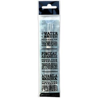 Ranger Tim Holtz Six-inch Water Brush with Detailer Brush Nib|https://ak1.ostkcdn.com/images/products/6721062/P14269696.jpg?impolicy=medium