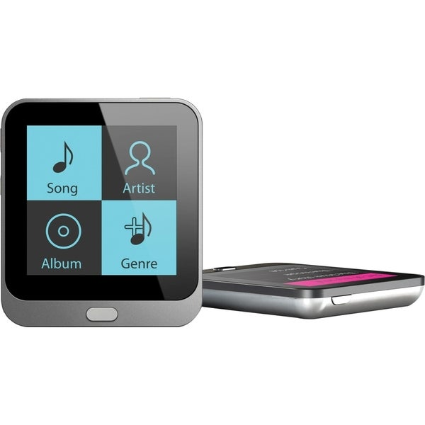 Coby MP800-4G 4 GB Black Flash Portable Media Player