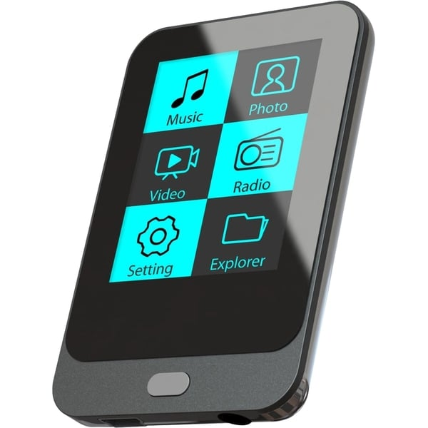 Coby 4 GB Black Flash Portable Media Player