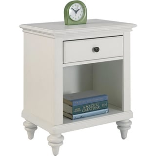 The Gray Barn Big Ben Brushed White Night Stand