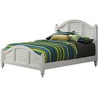 Havenside Home Carolina Brushed White Queen Bed