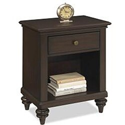 Bermuda Queen Bed and Night Stand Espresso Finish by Home Styles