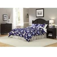 Bermuda Headboard, Night Stand, and Chest Espresso Finish by Home Styles